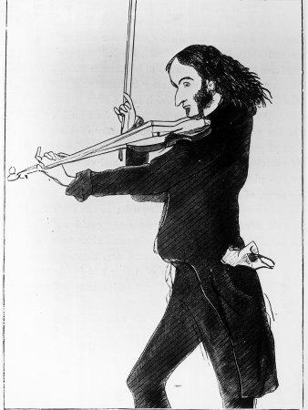 1118151caricature-of-nicolo-paganini-italian-violinist-posters